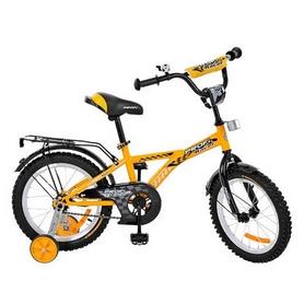 """Велосипед детский Profi Racer - 14"""", желтый (G1434)"""