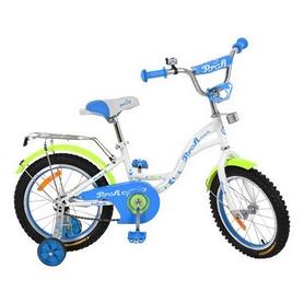 "Велосипед детский Profi Butterfly G1624 16"" белый"