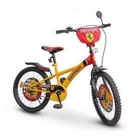 """Велосипед детский Ferrari 20"""" 112001 желтый"""
