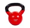 Гиря виниловая TA-5161 20 кг красная - фото 1