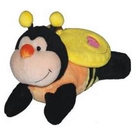 """Игрушка мягкая """"Пчела, лежачая"""" 17 см"""