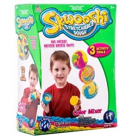 Набор для лепки Irvin Toys Skwooshi со смешивателем цветов