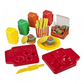Набор для лепки Irvin Toys Skwooshi Горячий бургер