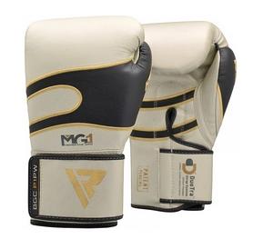 Боксерские перчатки RDX Leather Pearl 40247 White