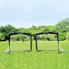 Ворота футбольные складные с мишенью Soccer Easy Playz NPS-801 (2 шт)