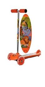Самокат детский трехколесный 4Kids Mini BB 3-041-O оранжевый