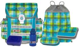 Ранец школьный McNeill Ergo Light Plus Green (6 предметов)