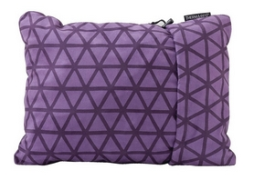 Подушка туристическая Cascade Designs Compressible Pillow Large фиолетовая