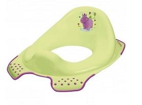 """Накладка на унитаз детская Кeeeper """"Hippo"""" 8650G салатовая"""