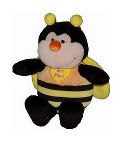 """Игрушка мягкая """"Пчела, сидячая"""" 17 см"""