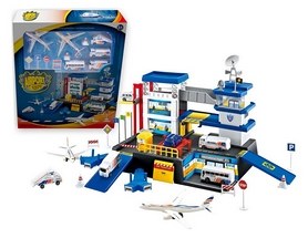 "Набор игровой Dave Toy ""City Parking"" Аэропорт"