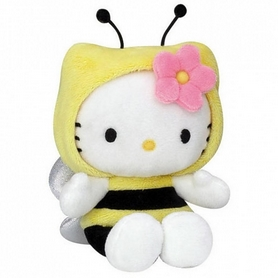 Игрушка мягкая Hello Kitty в костюме насекомого 021835