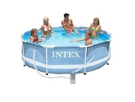 Бассейн каркасный Intex 28736 (457х122см) с фильтрующим насосом и аксессуарами