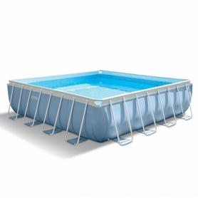 Бассейн каркасный Intex 56626 (488х488х122 см) с фильтрующим насосом и аксессуарами