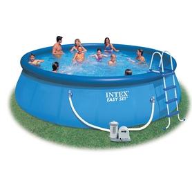 Бассейн надувной Intex 56905 (549х122 см) с фильтрующим насосом и аксессуарами