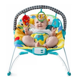 Кресло-качалка музыкальная Kids II Улыбка саванны