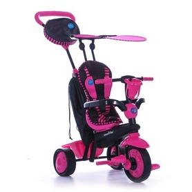 Велосипед трехколесный Smart Trike Spark 4 в 1, розовый (6751200)