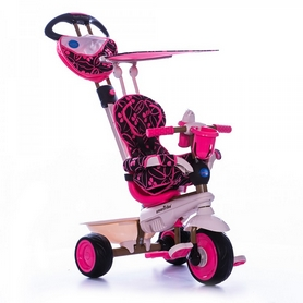 """Велосипед трехколесный Smart Trike Dream 4 в 1 - 10"""", розовый (8000200)"""