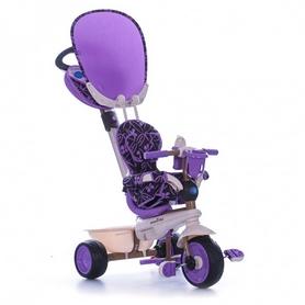 """Велосипед трехколесный Smart Trike Dream 4 в 1 - 10"""", сиреневый (8000700)"""