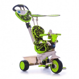 """Велосипед трехколесный Smart Trike Dream 4 в 1 - 10"""", зеленый (8000800)"""