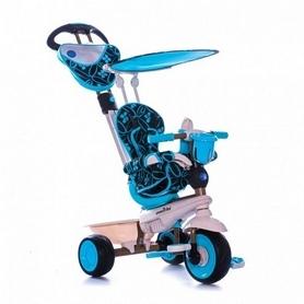 Велосипед трехколесный Smart Trike Dream 4 в 1 голубой
