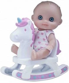 Пупс-малыш  JC Toys с качелей, 13 см