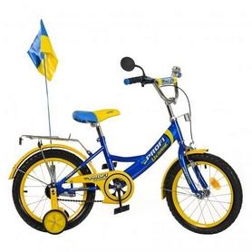 """Велосипед детский Profi Ukraine - 14"""", голубой (P 1449 UK-1)"""