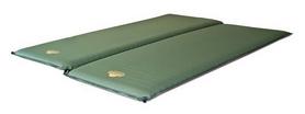 Коврик самонадувающийся Alexika Double Comfort зеленый