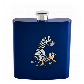 Фляга карманная Laken Kukuxumusu hip flask 180 мл Stripe