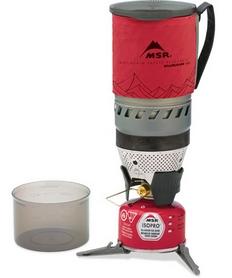 Система для приготовления пищи Cascade Designs WindBurner Stove System 1 л красная