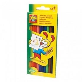 Набор цветных карандашей Ses (12 цветов)
