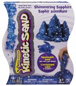 Песок кинетический Kinetic Sand & Kinetic Rock Metallic синий 454 г