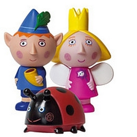 """Набор игрушек-брызгунчиков Ben&Holly """"Друзья"""""""