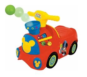 Машина-каталка чудомобиль Kiddieland «Паровоз Микки» из серии «Веселые шарики»