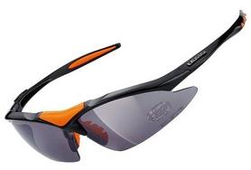 Очки спортивные Exustar CSG05-4IN1, черные