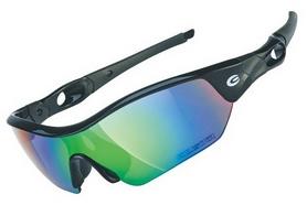 Очки спортивные Exustar CSG09-4IN1, черные