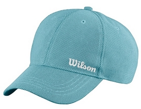 Кепка спортивная (бейсболка) Wilson Summer Cap Water OSFA SS16, бирюзовая