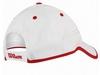 Кепка спортивная (бейсболка) Wilson Baseball Hat WH SS17, белая - фото 2