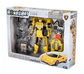 Робот-трансформер Roadbot Lamborghini Countach 1:24