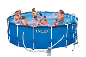 Бассейн каркасный Intex 28234/28734 (457х107 см) с фильтрующим насосом и аксессуарами