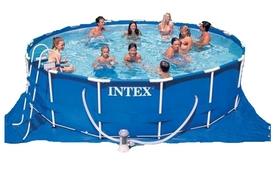 Бассейн каркасный Intex 28228 (457х84 см) с фильтрующим насосом и аксессуарами