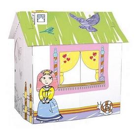 """Домик игровой картонный Bino """"Для принцессы"""""""