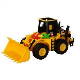"""Погрузчик Toy State """"CAT"""" со светом и звуком 33см (35643)"""
