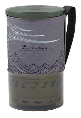 Чашка Cascade Designs WindBoiler Pot 1 л серая