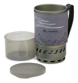 Фото 2 к товару Чашка Cascade Designs WindBoiler Pot 1 л серая