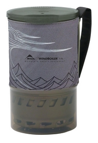 Чашка Cascade Designs WindBurner Pot 1 л серая