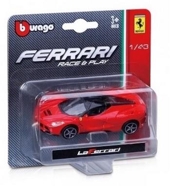 Машинка игрушечная Bburago Ferrari (1:64)