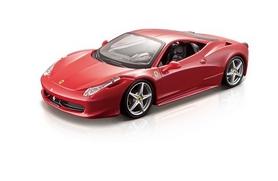 Машинка игрушечная Bburago Ferrari 458 Italia (1:24) красная