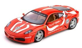 Машинка игрушечная Bburago Ferrari F430 Fiorano (1:24) красная