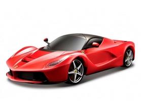 Машинка игрушечная Bburago Laferrari (1:24) красная